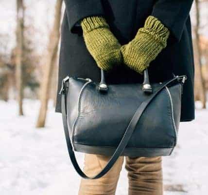wieszak na torebki